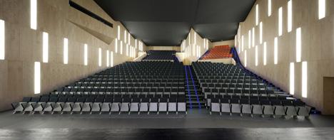 Municipal Auditorium of Teulada by Francisco Mangado