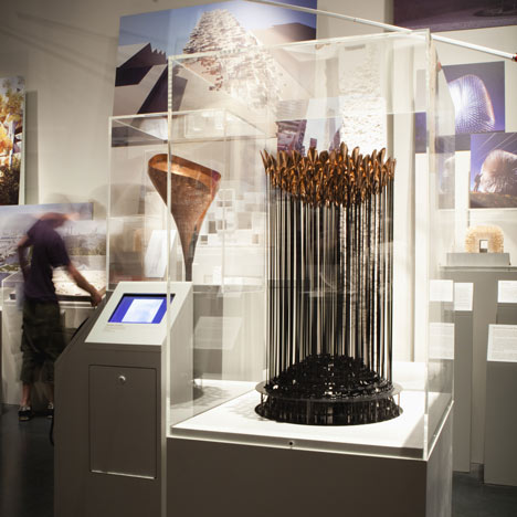 London 2012 Olympic Cauldron by Thomas Heatherwick: model, prototype and drawings