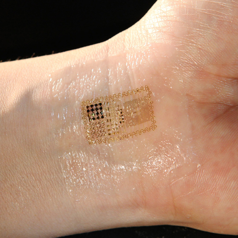 Biostamp temporary tattoo electronic circuits by MC10