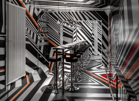 New York Bar Oppenheimer by Tobias Rehberger