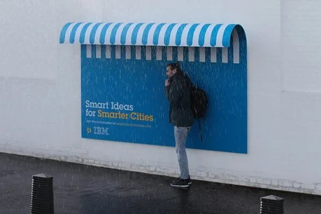 Ads with a New Purpose by Ogilvy and Mather for IBM
