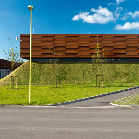 Kompressor Station Egtved by C.F. Møller