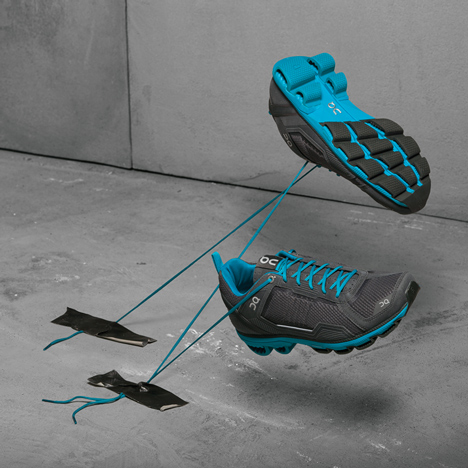 On running trainers by Thilo Alex Brunner