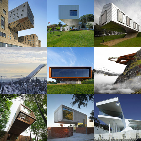 New Pinterest board cantilevers | architecture | Dezeen