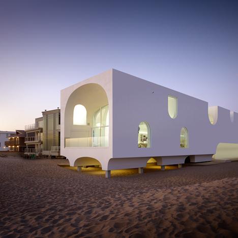 ultimate modern beach house