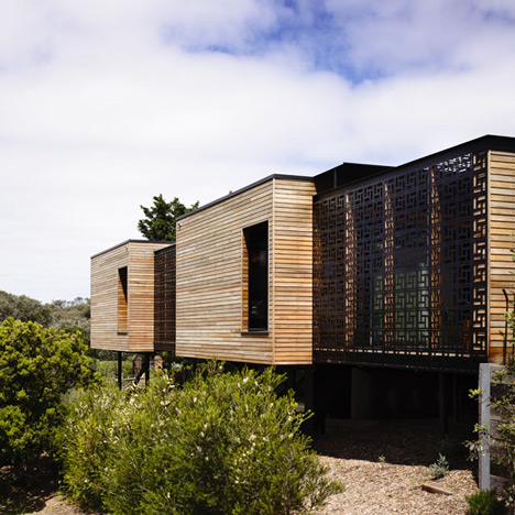 Blairgowrie House by Wolveridge Architects offers a timber