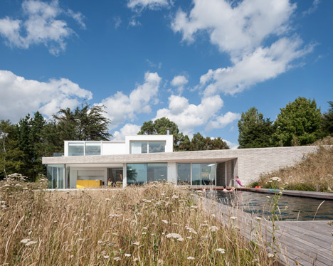 Broombank house in Suffolk by SOUP Architects