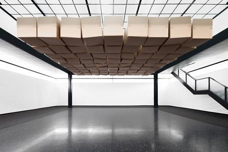 Zimoun interiors installation