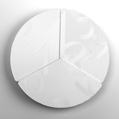 Eclipse clock by Rachel Suming