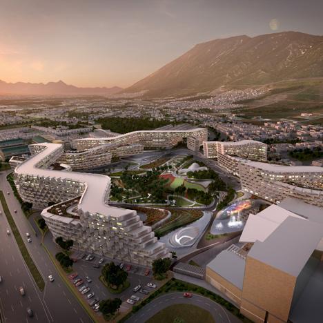 Esfera City Center by Zaha Hadid