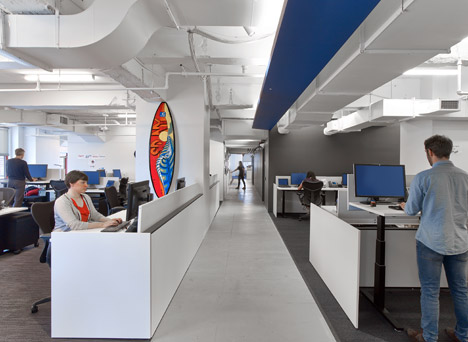 LinkedIn offices in New York City by IA