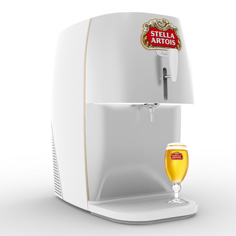 Marc Thorpe Designs A Mini Draught Beer Dispenser For