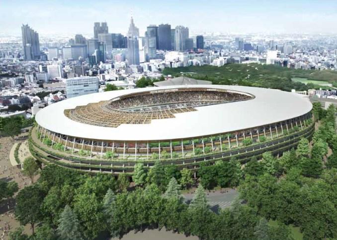 Kengo Kuma beats Toyo Ito to win Japan National Stadium competition