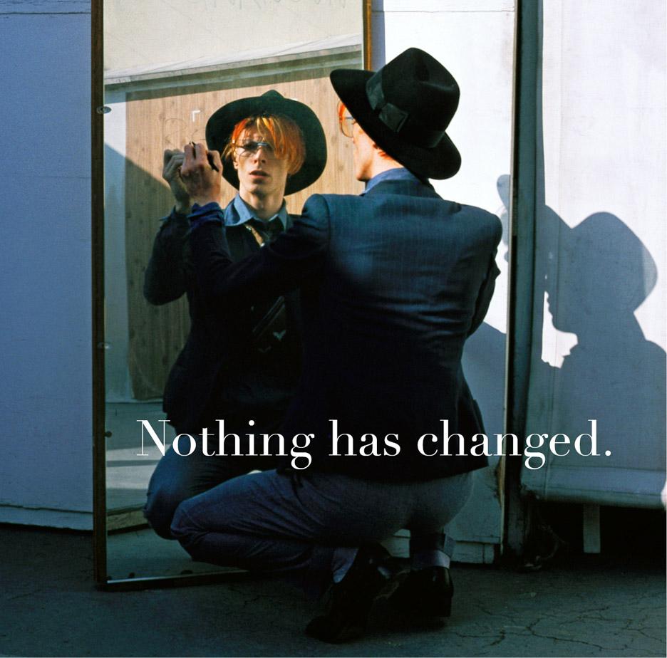 Jonathan Barnbrook on David Bowie cover art