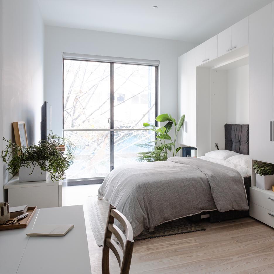 My Micro NY apartment interior by nArchitects