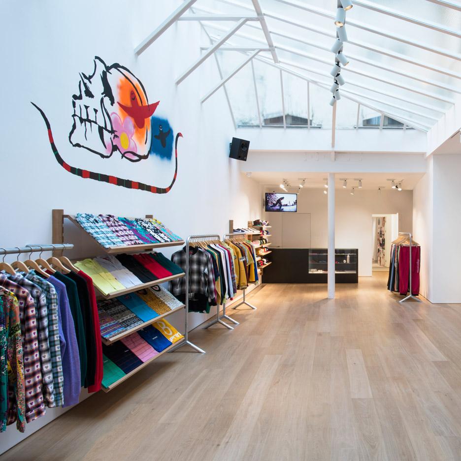 Supreme Paris store by Brinkworth