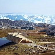 Danish studio Dorte Mandrup reveal climate change centre in Greenland