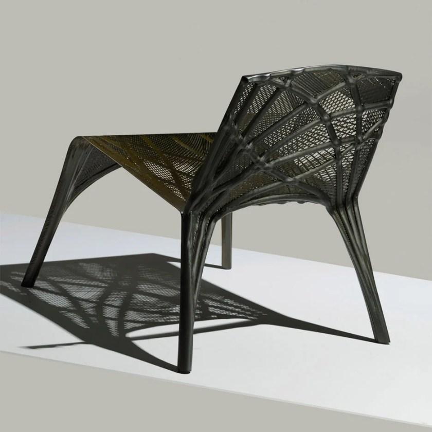 Technocast: carbon fibre furniture by Marleen Kaptein and NLR