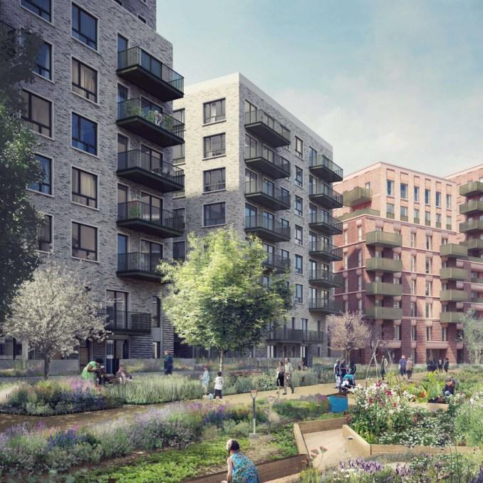 Replacement housing revealed for doomed Robin Hood Gardens