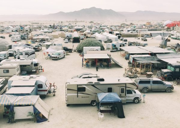 The best temporary structures from Burning Man festival 2016
