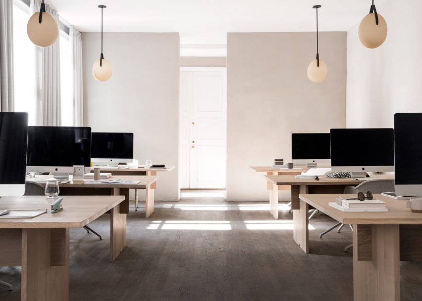 12 of the best minimalist office interiors where there s space to think     Kinfolk magazine office by Norm Architects 1 of 12