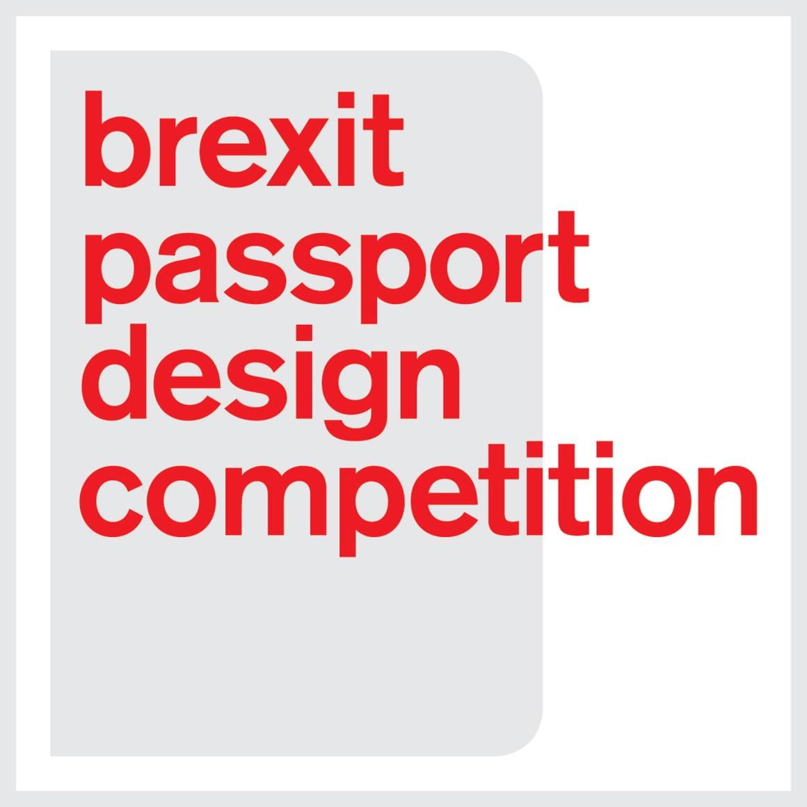 Dezeen lance un concours Brexit Passeport Conception