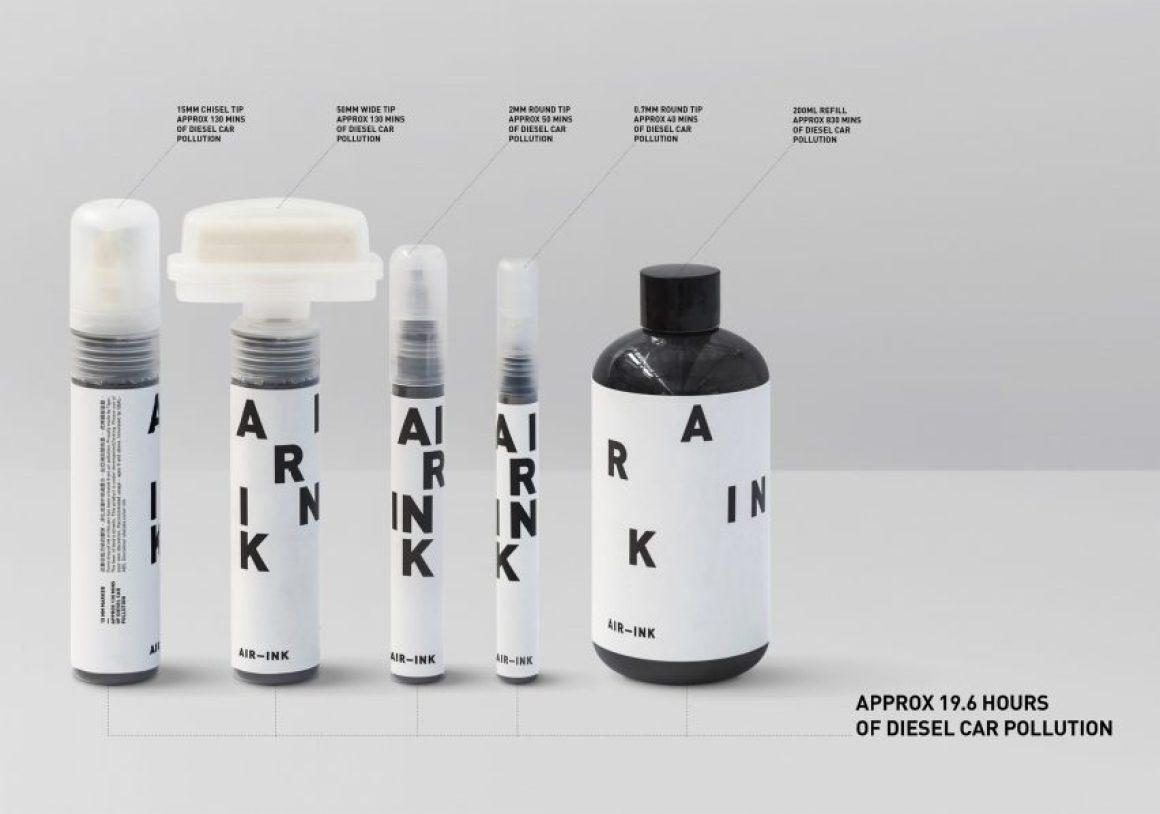 Air-Ink par Graviky Labs