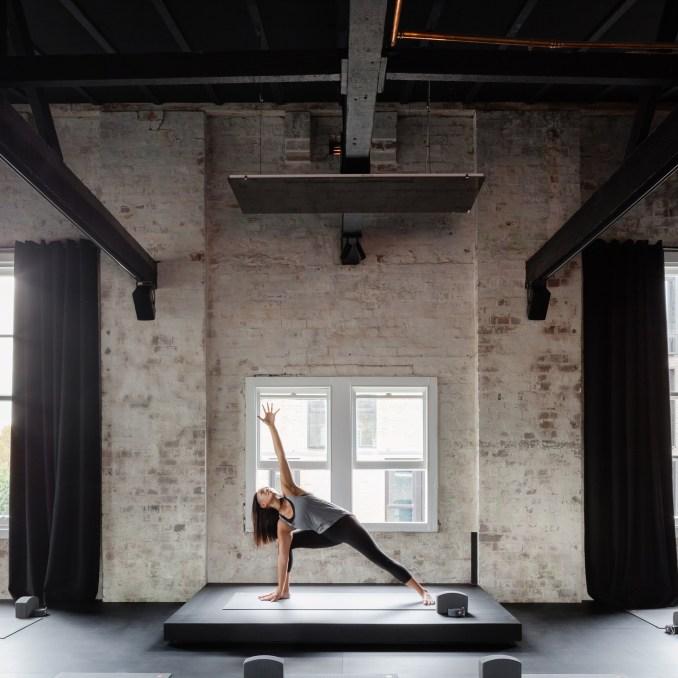 Humming Puppy Yoga Studio by Karen Abernethy Architects