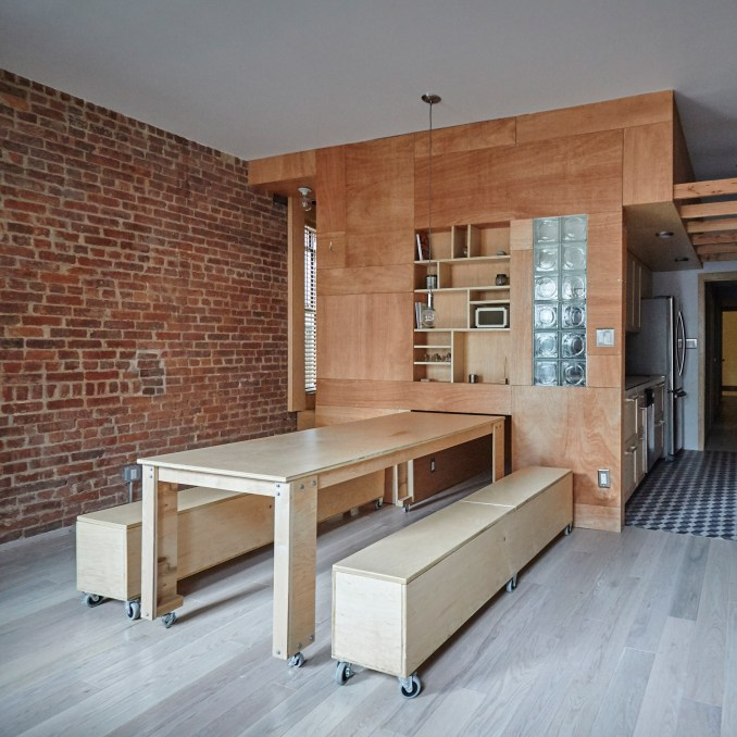 Peter Kostelov's renovated uptown Manhattan apartment