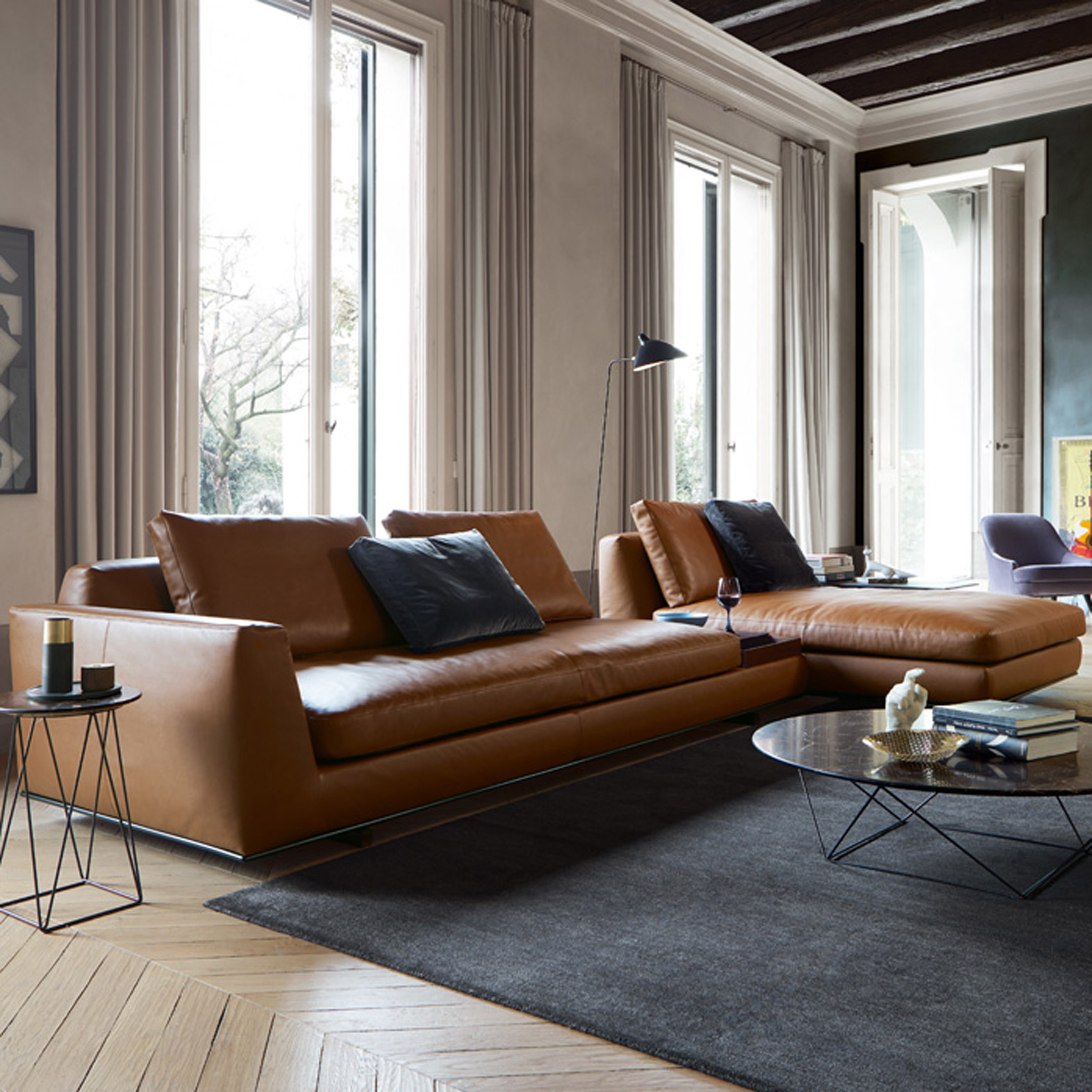 Walter Knoll Walter Knoll To Present Sofa With Integrated