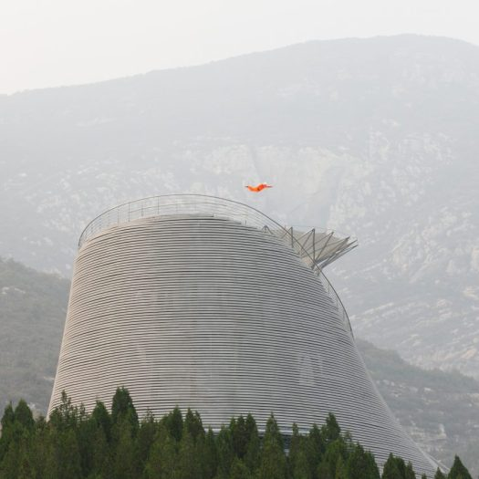 The Shaolin Flying Monks theatre by Mailitis Architects