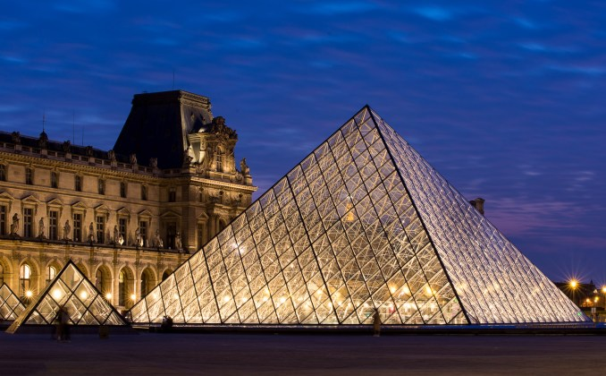 The Grande Louvre by IM Pei