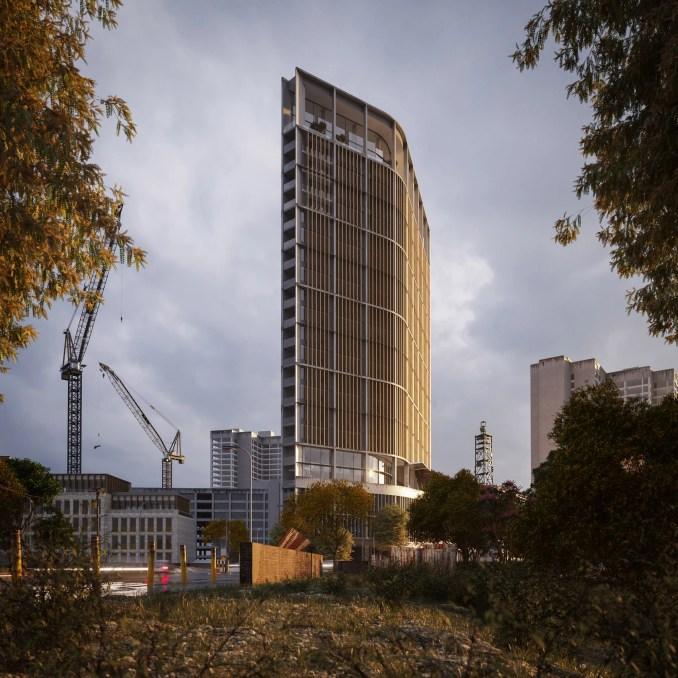 Akili Tower by Richard Keep Architects