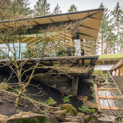 Portland Japanse Garden by Kuma