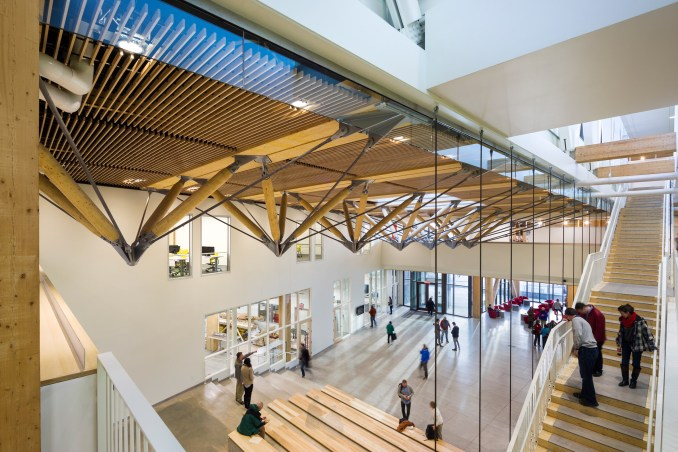 The University of Massachusetts Amherst's design school by Leers Weinzapfel Associates