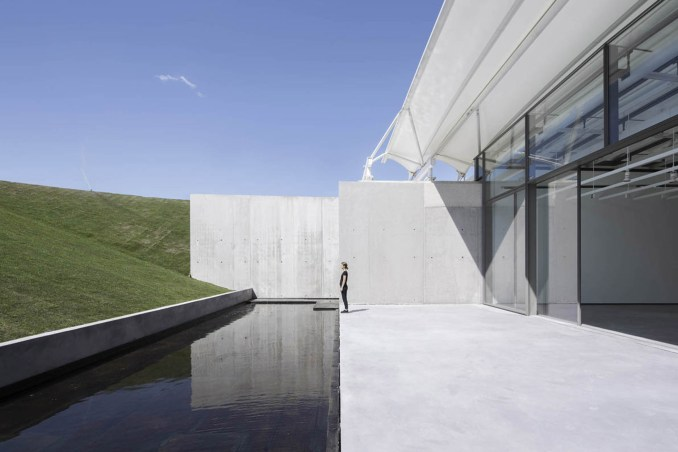 Château La Coste Art Gallery by Renzo Piano Building Workshop