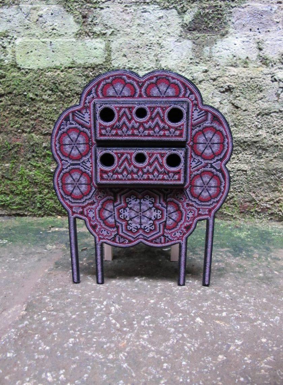 Los Wixarika jewellery boxes by Ana Jiminez