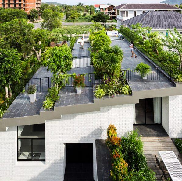 Maison à Nha Trang, Vietnam par Vo Trong Nghia