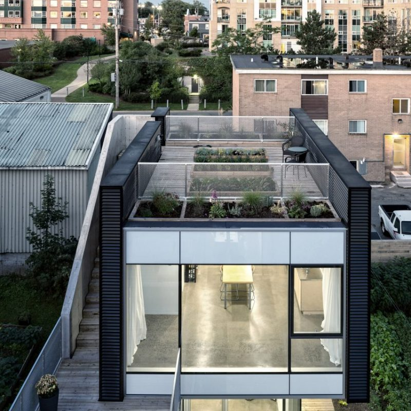 Live Work Grow House, Canada par Susan Fitzgerald