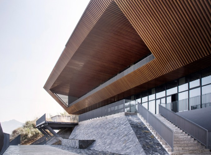 Qiandao Lake Cable Car Station by Archi-Union Architects