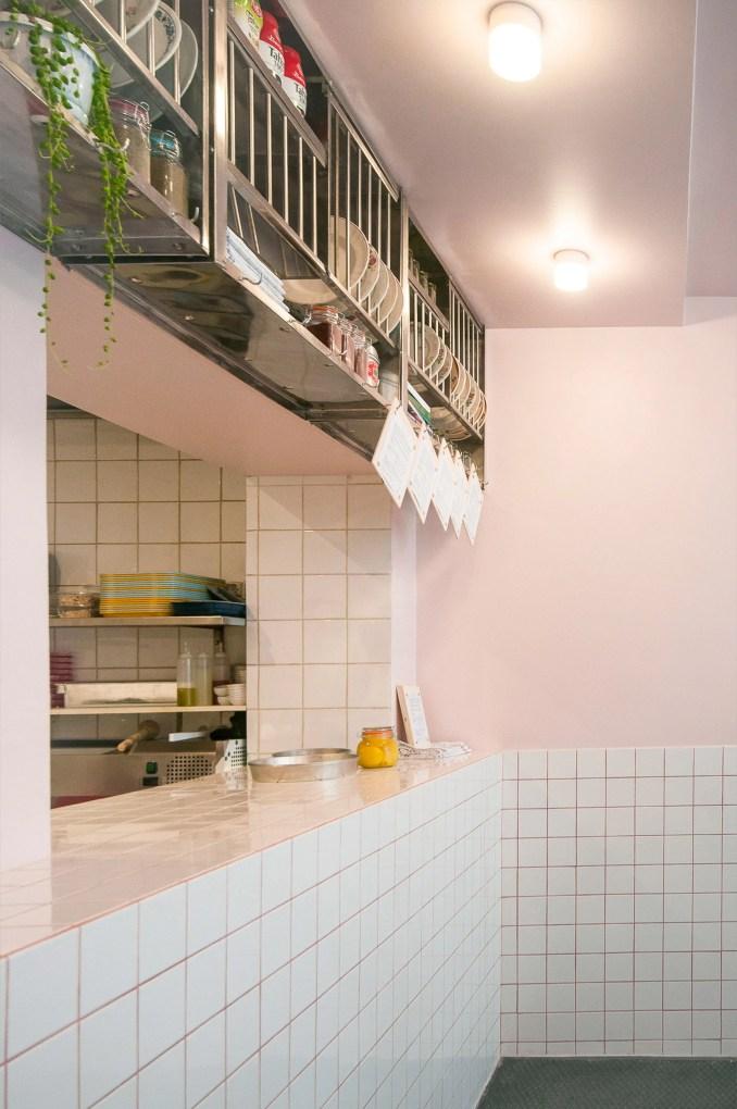 Yafo Houmous Deli in Paris by Studio Sur Rue