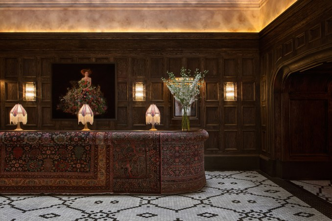 Martin Brudnizki's AHEAD nominated design for the Beekman Hotel in New York
