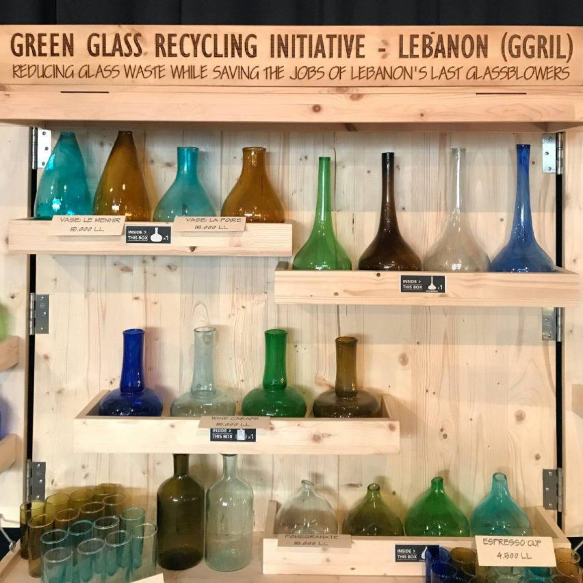 Initiative de recyclage du verre vert au Liban