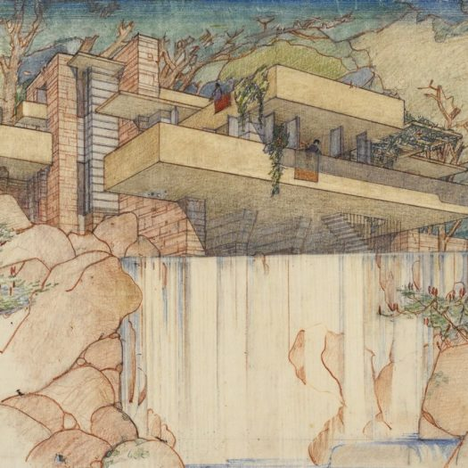 Fallingwater drawing
