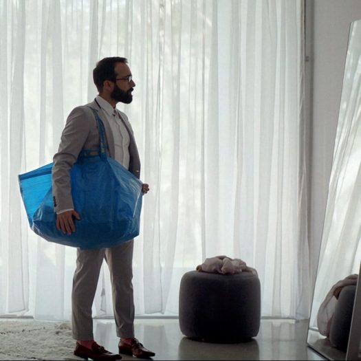 IKEA blue bag video