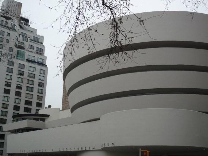 Guggenheim by Frank Lloyd Wright