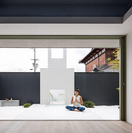 Japan architecture for Minimalist white house by koichi kimura