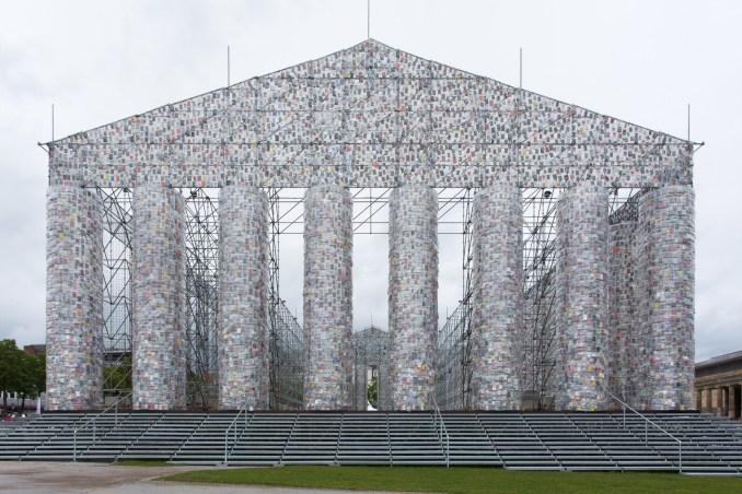 Parthenon of Books by Marta Minujín