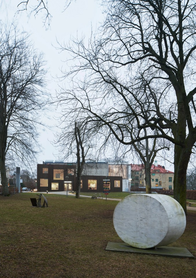 Skissernas Museum extension by Elding Oscarson