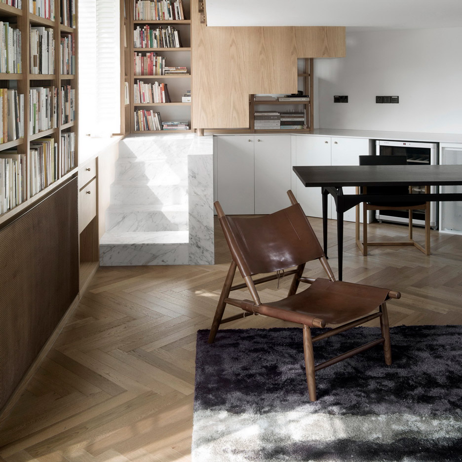Chinese interior designers, Elle Decoration China 2019 annual: The Library Home, Shanghai, by Atelier TAO+C
